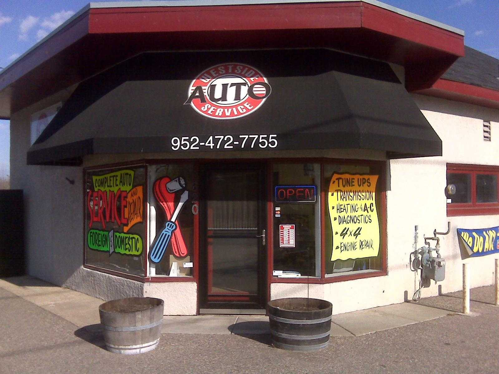 View of Weside Auto Service